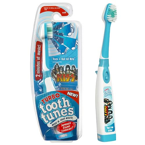 Tooth Tunes Turbo Rock & Roll All Night (KISS) Brush