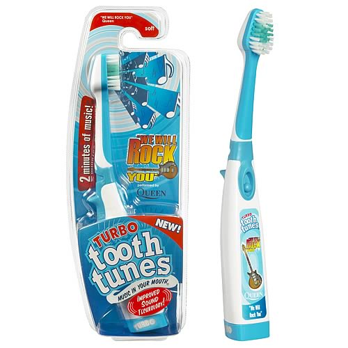 Tooth Tunes Turbo We Will Rock You (Queen) Brush