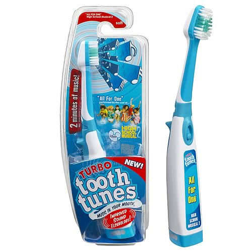 Tooth Tunes Turbo All For One (High School Musical) Brush