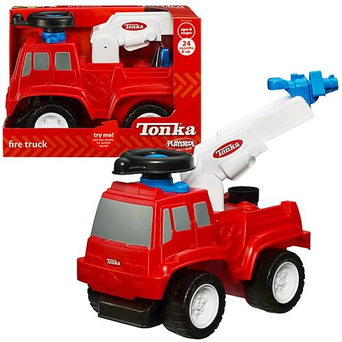 Tonka Wheel Driver Fire Truck