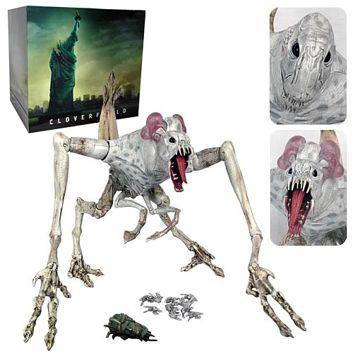 Toys From Hasbro : Cloverfield monster action figure inch electronic toy