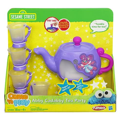 Sesame Street Abby Cadabby Tea Party Set