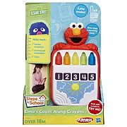 Sesame Street Elmo Count-Along Crayons