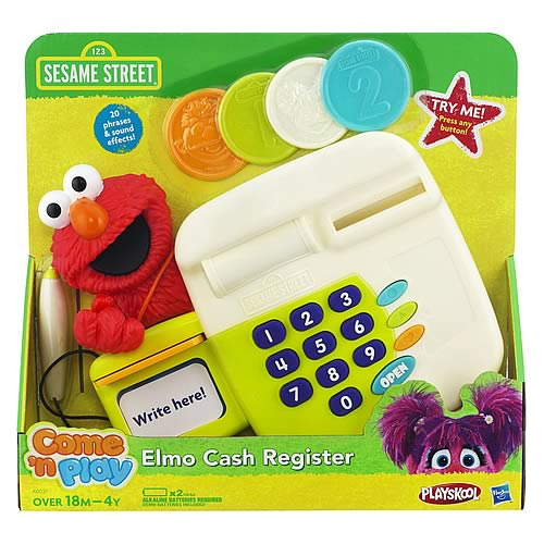 Sesame Street Elmo Cash Register