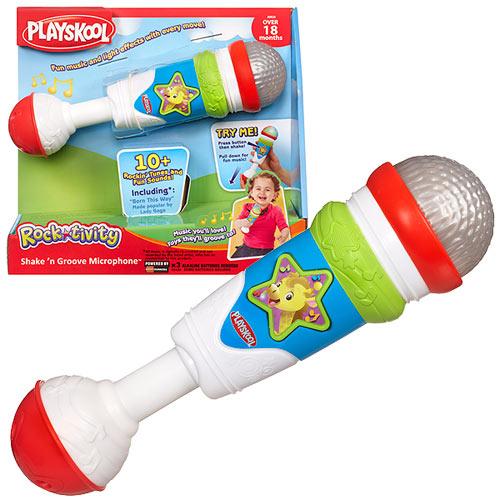 Playskool Rocktivity Shake n Groove Microphone