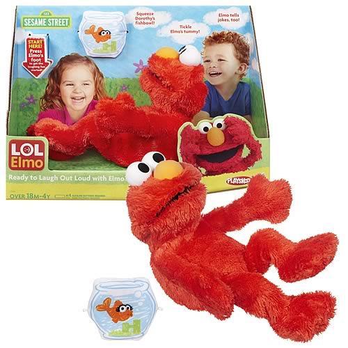 Sesame Street Plush LOL Elmo