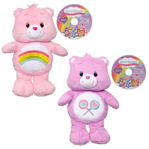 Care Bears Classic Plush with DVD Wave 1 Set