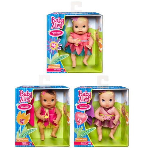Baby Alive Kicks N Cuddles Dolls Wave 1
