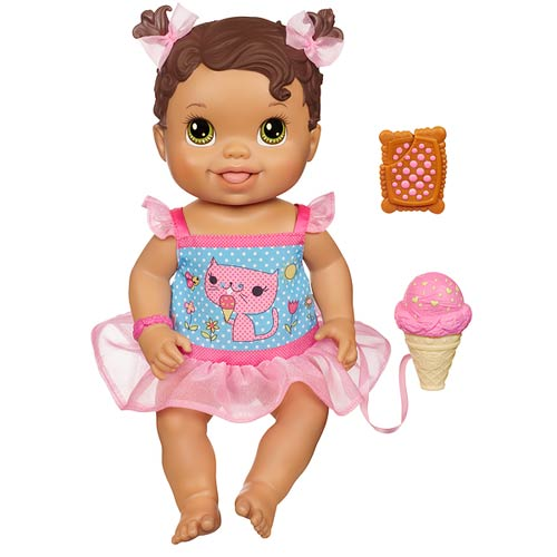 Baby Alive Yummy Treat Baby Doll Brunette