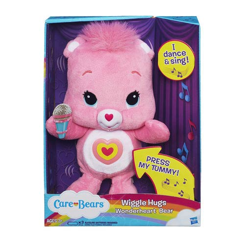 Care Bears Wiggle Hugs Wonderheart Bear