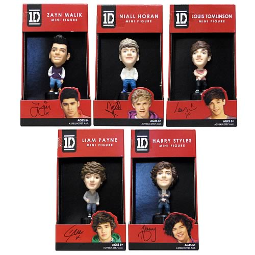 1D Mini-Figures Wave 1 Set