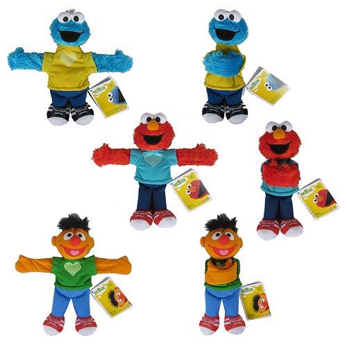 Sesame Street Hugs Forever Friends Plush Wave 1