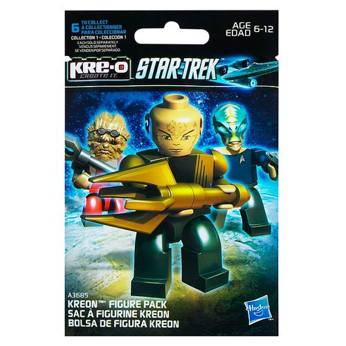 Star Trek Kre-O Mini-Figures Series 1 6-Pack