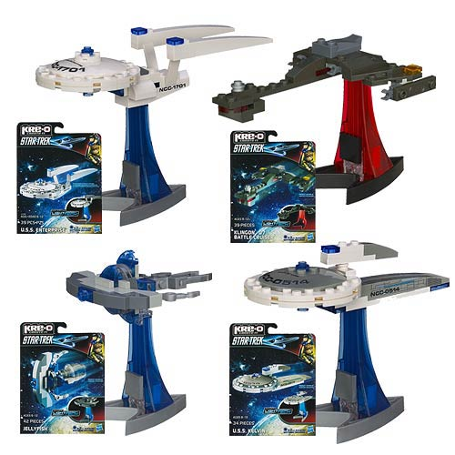 Star Trek Kre-O Micro Build Ships Wave 1
