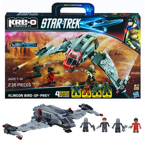 Star Trek Kre-O Klingon Bird of Prey Set