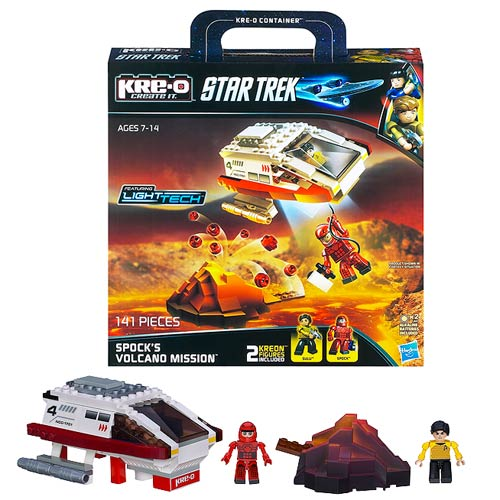 Star Trek Kre-O Spock Volcano Mission Construction Set