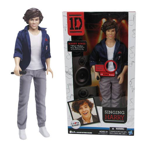 1D Singing Harry Doll