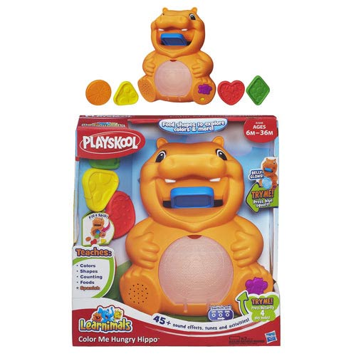 Playskool Color Me Hungry Hippo