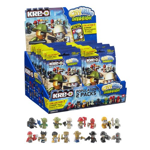 Kre-O Cityville Invasion Mini-Figure Population 2-Pack Case