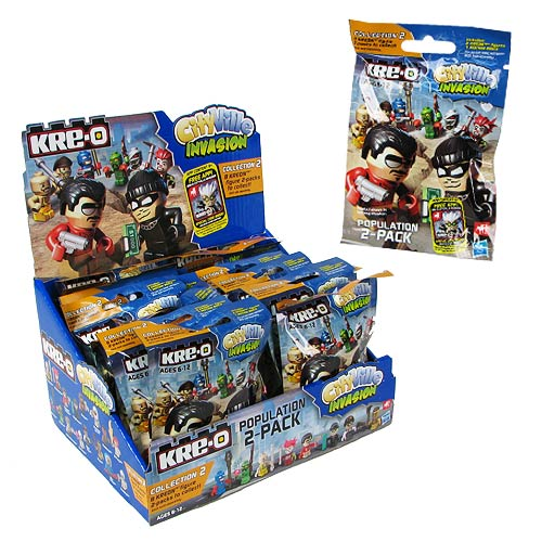 Kre-O Cityville Invasion Mini-Figure 2-Pack Wave 2