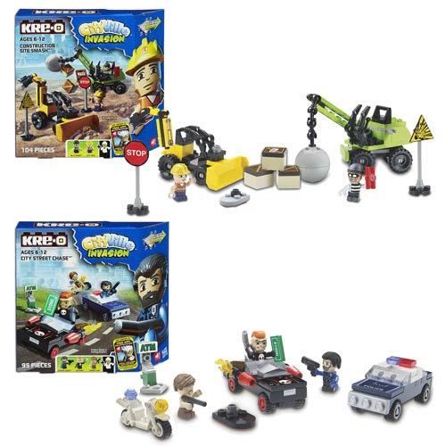 Kre-O Cityville Invasion Vehicle Assortment Wave 1 Set
