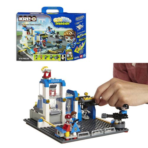 Kre-O Cityville Invasion Zombie Defense Set