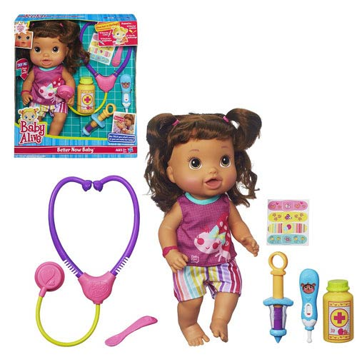 Baby Alive Better Now Doll (Hispanic)
