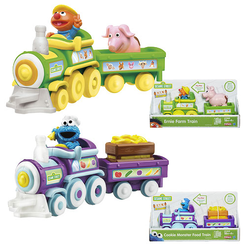 Sesame Street Trains Vehicles Wave 1 Set