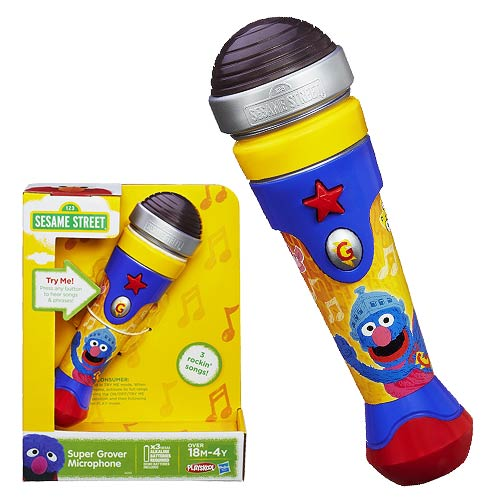 Sesame Street Super Grover Microphone