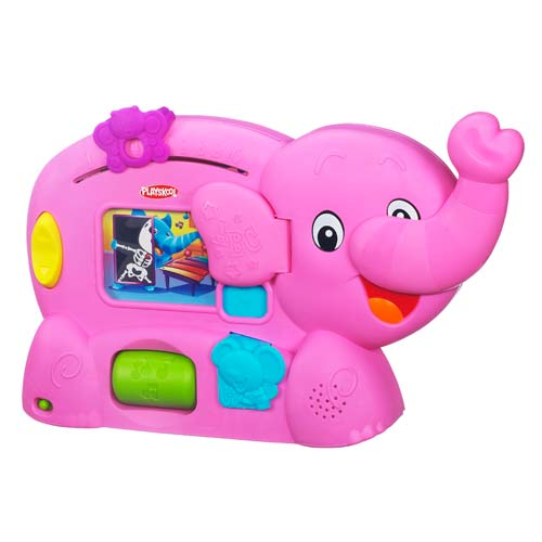 Playskool Learnimals ABC Adventure Pink Elephant