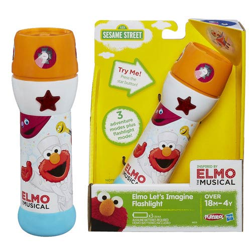 Sesame Street Elmo Let's Imagine Flashlight