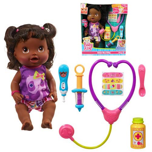 Baby Alive Better Now Baby Doll (African-American)