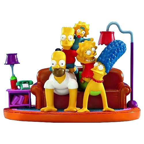 Simpsons Couch Pyramid Statue