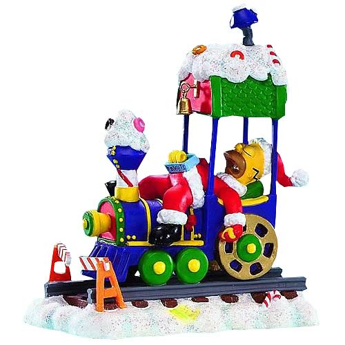 Simpsons Christmas Express 1: Asleep at the Wheel Statue
