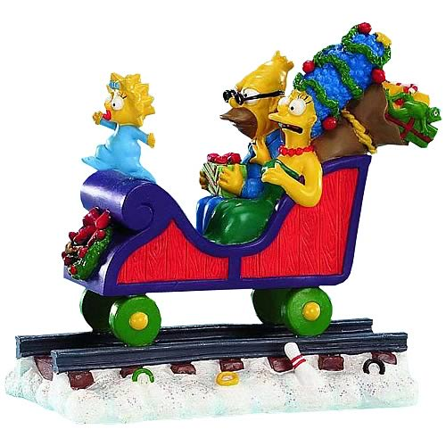 Simpsons Christmas Express 2: All Aboard Statue