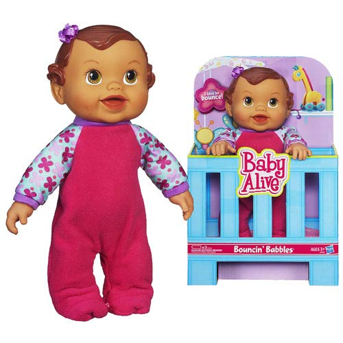 Baby Alive Bouncing Babbles Doll (Hispanic)