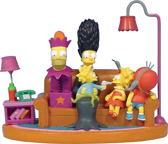 Simpsons Couch Halloween Mini Statue