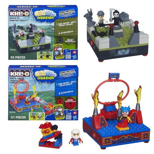 Kre-O Cityville Sonic Motion Assortment Wave 1 Set