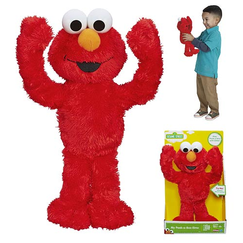 Sesame Street My Peek-a-Boo Elmo Plush Toy