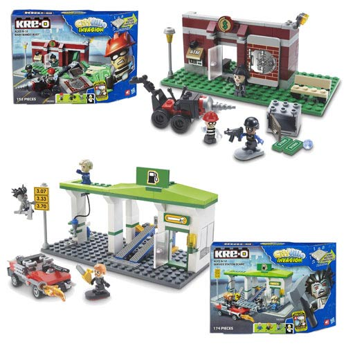 Kre-O Cityville Small Building Assortment Wave 1 Set