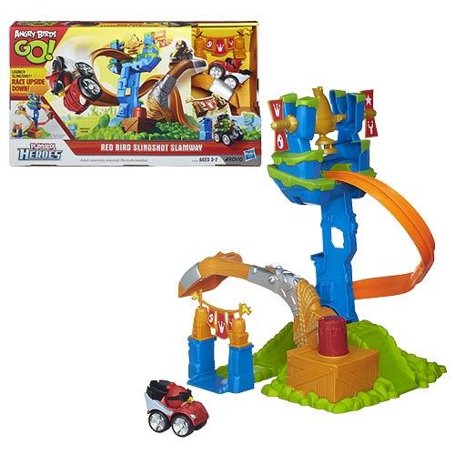Angry Birds Go! Red Bird Slingshot Slamway