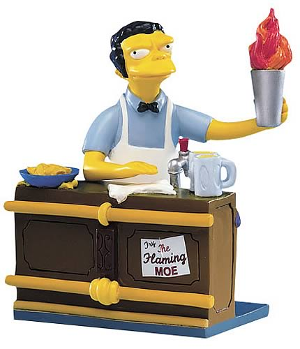Simpsons: Drink-Up, Chumps Mini Statue
