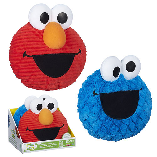 Sesame Street Giggle Faces Plush Wave 1 Set
