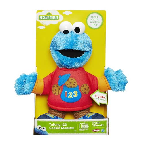 Sesame Street Talking 123 Cookie Monster