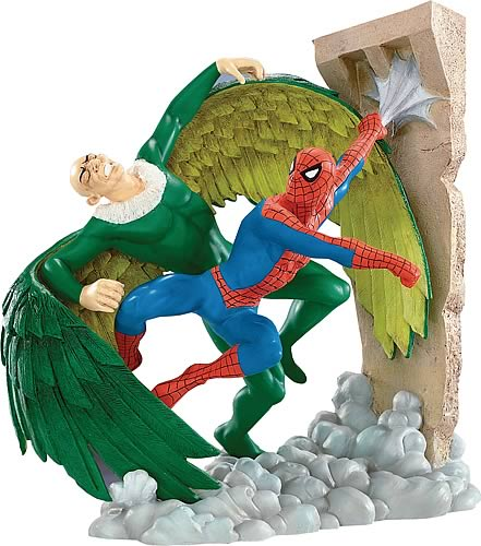 Spider-Man vs. the Vulture Mini Statue