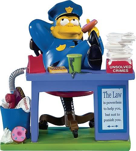 Simpsons No Problemo Mini Statue