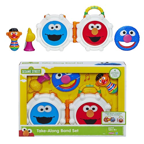 Sesame Street Take-Along Band Set