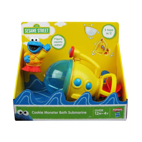 Sesame Street Cookie Monster Bath Submarine