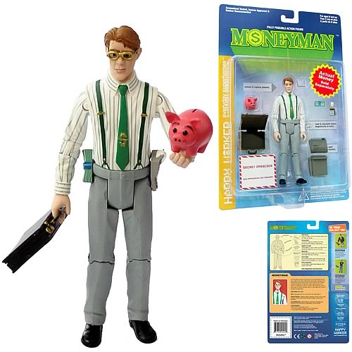 MoneyMan Action Figure