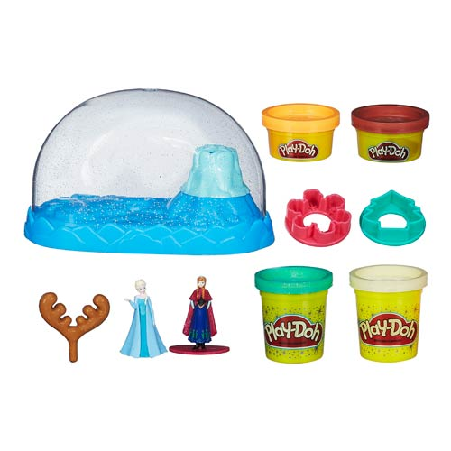 Frozen Play-Doh Sparkle Snow Dome Playscape